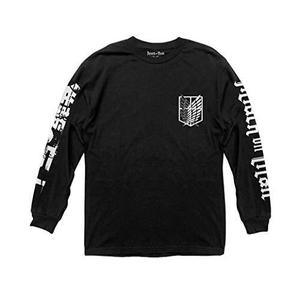 Ripple Junction Attack on Titan Scout Shield Long Sleeve Crew Neck Shirt | My Hero Booth
