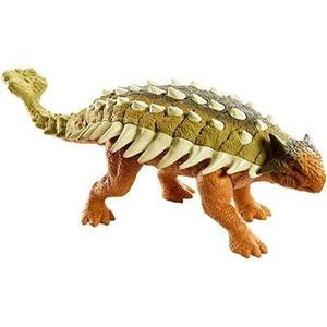 Roaring Battle Action with Jurassic World Roarivores Ankylosaurus Dinosaur Action Figures-My Hero Booth