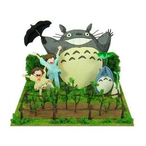 Sankei MP07-49 Ghibli Dondoko Daance My Neighbor Totoro Paper Craft-My Hero Booth