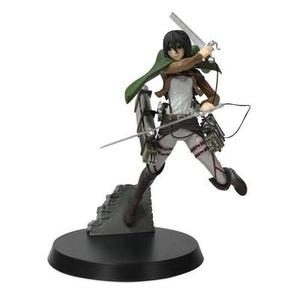 "SEGA On Titan Survey Corps 7"" Mikasa Ackerman Action Figure with 3D Maneuver Gear 