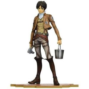 Sen-ti-nel Brave-Act Eren Jaeger Cleaning Version Attack on Titan Model Kit | My Hero Booth