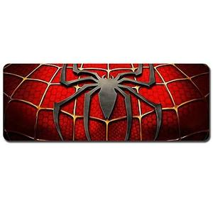 Spider-Man Mouse Pad,Professional Large Gaming Mouse Pad, Classic Pattern Mouse mat,Extended Size Desk Mat Non-Slip Rubber Mouse Mat (3, 800 x 300 x3 mm / 31.5 x 11.8 x 0.1 inch) : My Hero Booth