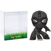 Spider-Man [Stealth Suit]: Funk o Mystery Minis Vinyl Figure Bundle with 1 Compatible 'ToysDiva' Graphic Protector (39351 - B) -Action Figure | My Hero Booth