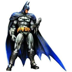 Square Enix Batman Arkham City: Play Arts Kai Batman Action Figure-My Hero Booth