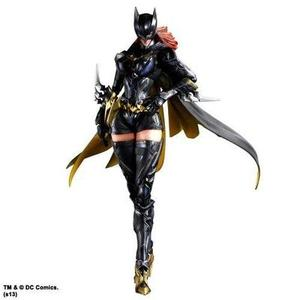 Square Enix DC Comics Batgirl Variant Play Arts Kai Action Figure | My Hero Booth