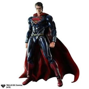 Square Enix Man of Steel Superman Action Figure -Action Figure : My Hero Booth