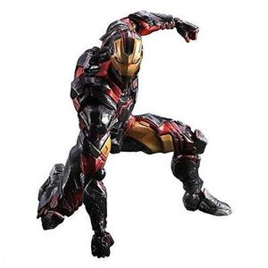 Square Enix Marvel Iron Man Variant Play Arts Action Figure | My Hero Booth