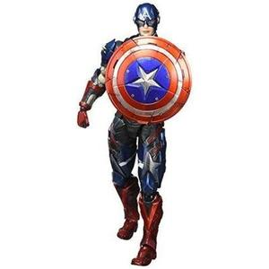 Square Enix Marvel Universe Variant Play Arts Kai Captain America Action Figure | My Hero Booth