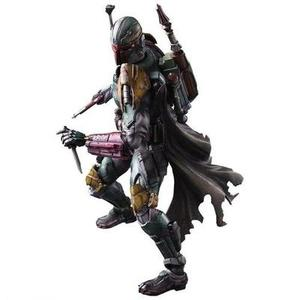 Square Enix STAR WARS VARIANT PLAY ARTS Kai Boba Fett PVC painted action figure by Square Enix | My Hero Booth