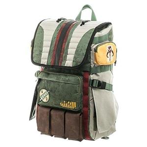 Star Wars Boba Fett Mandalorian Suit Up Laptop Backpack-My Hero Booth