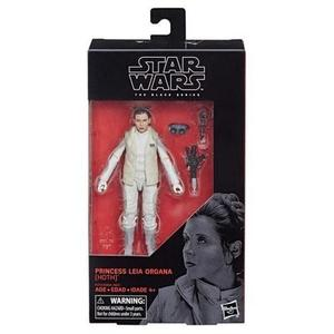 "Star Wars E1213 The Black Series 6"" Princess Leia Organa (Hoth) Figure -Action Figure 