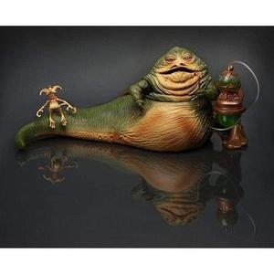 Star Wars Jabba the Hutt & Salacious Crumb Figure 2014 Comic Con SDCC Exclusive-My Hero Booth