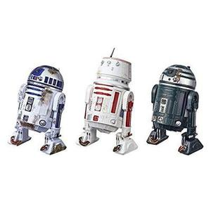 Star Wars The Black Series Episode IV: A New Hope R2-D2 (Red Squadron) Droid Figure 3-Pack – Collectible/Fan 6-Inch-Scale Star Wars Episode IV Droid Figures (Amazon Exclusive) | My Hero Booth
