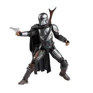 Star Wars The Black Series The Mandalorian Toy 6-Inch-Scale Collectible Action Figure, Toys for Kids Ages 4 and Up-My Hero Booth