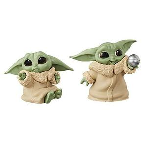 "Star Wars The Bounty Collection The Child Collectible Toys 2.2-Inch The Mandalorian ""Baby Yoda"" Don't Leave, Ball Toy Figure 2-Pack-My Hero Booth"