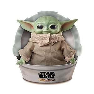 Star Wars The Child Plush Toy, 11-inch Small Yoda-like Soft Figure from The Mandalorian -Action Figure-My Hero Booth