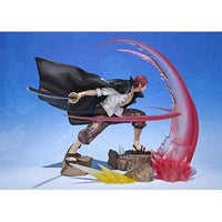TAMASHII NATIONS Bandai FiguartsZero Shanks-Sovereign Haki-One Piece Action Figure -Action Figure | My Hero Booth