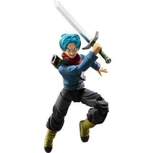 TAMASHII NATIONS Bandai S.H. Figuarts Future Trunks Dragon Ball Super Action Figure-My Hero Booth