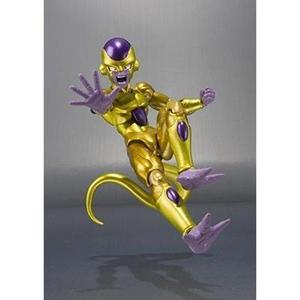 TAMASHII NATIONS Bandai S.H.Figuarts Golden Frieza Dragon Ball Z: Resurrection F Action Figure -Action Figure-My Hero Booth