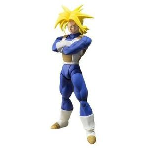TAMASHII NATIONS Bandai Super Saiyan Trunks (Cell Saga Version) Dragon Ball Z Action Figure -Action Figure-My Hero Booth