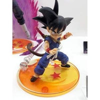 Tamashii Nations SDCC 2019 Exclusive S.H. Figuarts Dragonball Son Goku Kid DBZ | My Hero Booth