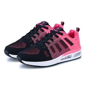 Womens Fashion Tennis Walking Shoes Jogging Running Sneakers Sport Air Fitness Gym Rose | My Hero Booth
