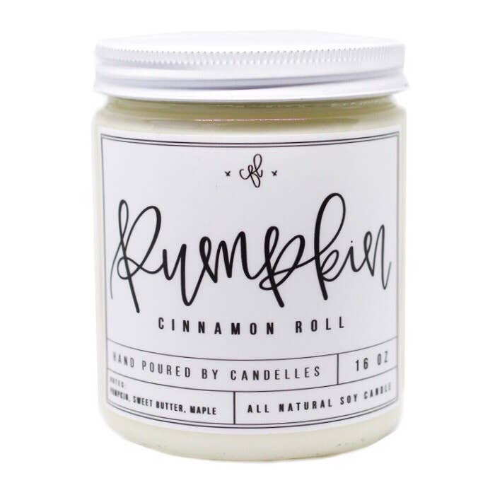 Pumpkin Cinnamon Roll Candle