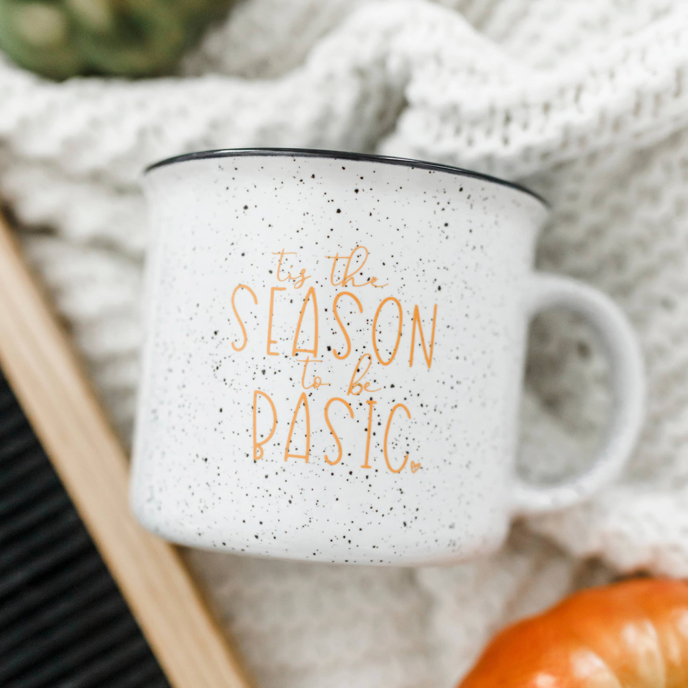 Tis the Season to be Basic Campfire Mug