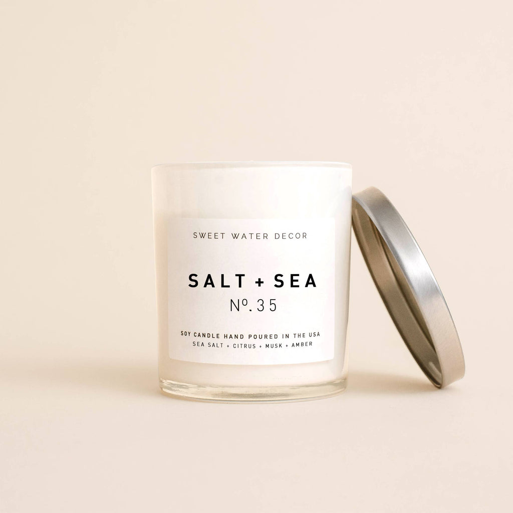Salt + Sea Soy Candle