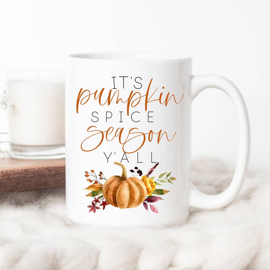 It's Pumpkin Spice Season Y'All Mug