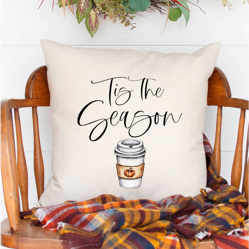 Tis The Season PSL Pillow Cover