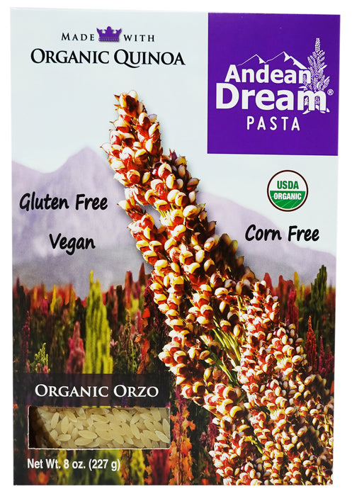 Andean Dream Organic Orzo (12 Pack)