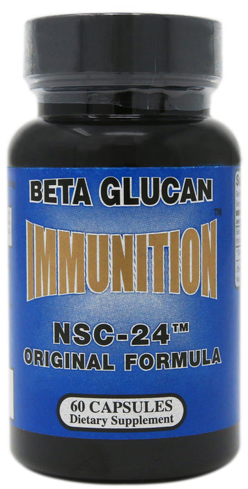 Nutritional Scientific Corporation Immunition NSC-24 Original Formula Beta Glucan 60 Capsules