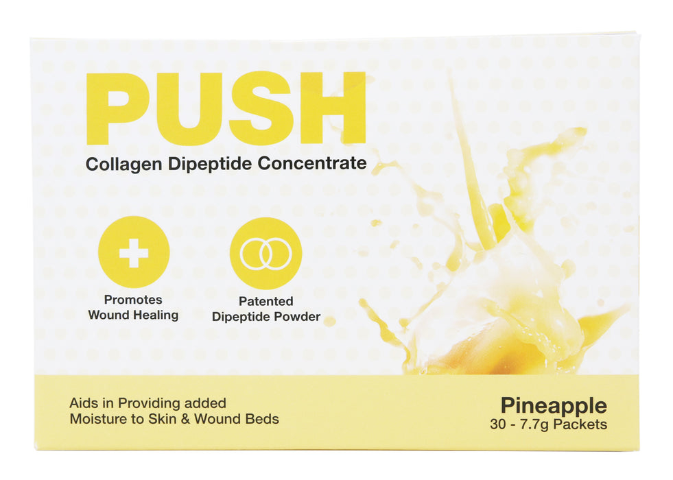 Push Collagen Dipeptide Concentrate Pineapple 30 Packets