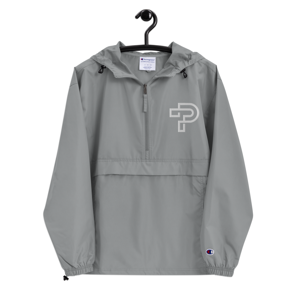 Embroidered Champion Packable Jacket Unisex