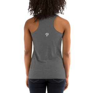 Women's Lion Black Racerback Tank