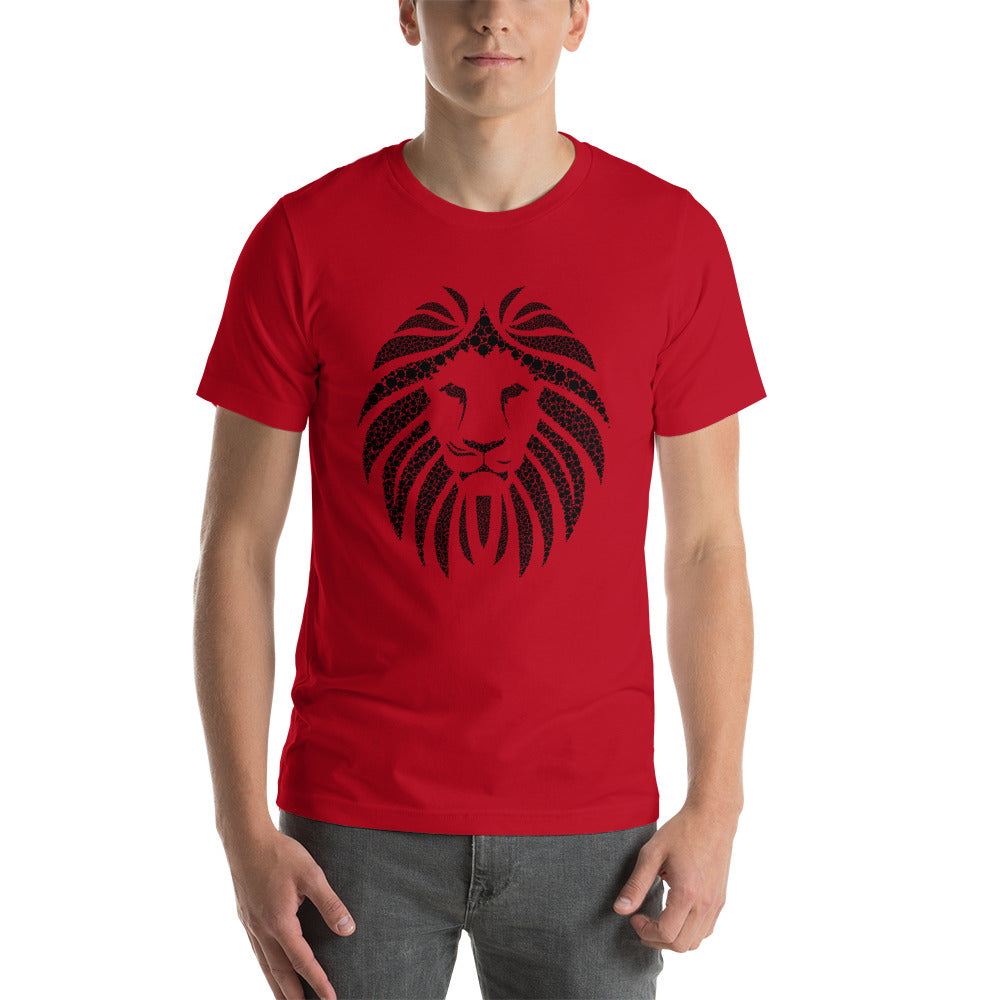 PT Lion Black Short-Sleeve Unisex T-Shirt (Eco)