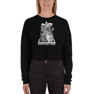 Moonmen Women Crop Sweatshirt (Eco)