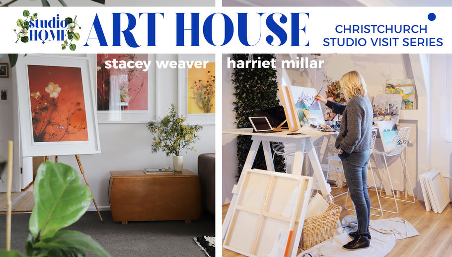 CHRISTCHURCH STUDIO VISIT SERIES: Stacey Weaver and Harriet Millar