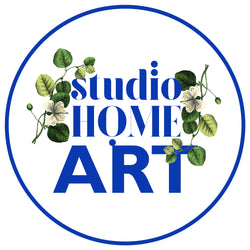 Studio Home ART - garden inspired artwork by Julia Atkinson-Dunn