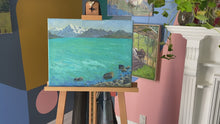 "Load and play video in Gallery viewer, ""Lake Pukaki"" by Stacey Gledhill"