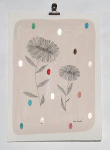 """Gold Daisies I"" by Annie Smits Sandano"