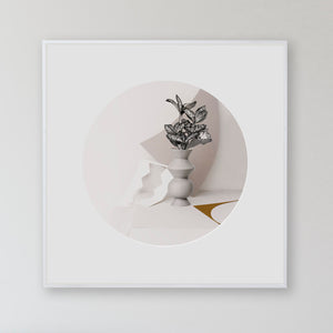 """Paper Cuts 5 - Noonday"" by Anna Church Limited Edition Print. New Zealand art online at Studio Home ART HOUSE"