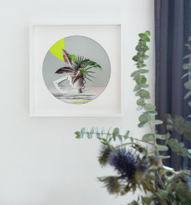 """Paper Cuts 1 - Daybreak"" by Anna Church Limited Edition Prints. New Zealand art online at Studio Home ART HOUSE"