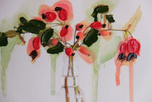 "Load image into Gallery viewer, ""Rosa Canina"" #3 by Julia Atkinson-Dunn"