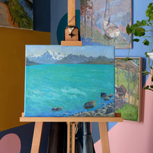 "Load image into Gallery viewer, ""Lake Pukaki"" by Stacey Gledhill"