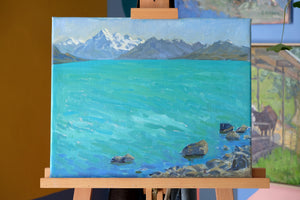 """Lake Pukaki"" by Stacey Gledhill"
