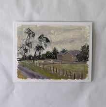 "Load image into Gallery viewer, ""Farm House"" on paper by Stacey Gledhill"