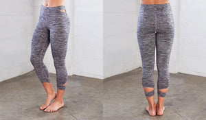 Manduka - Cut Out Capri Legging - Women