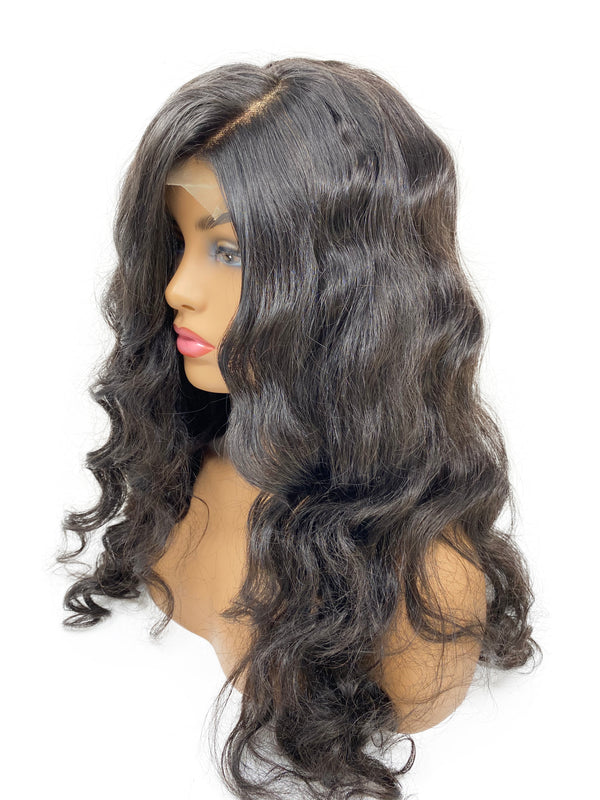 PERUVIAN NATURAL WAVE CLOSURE UNIT WIG - AVH